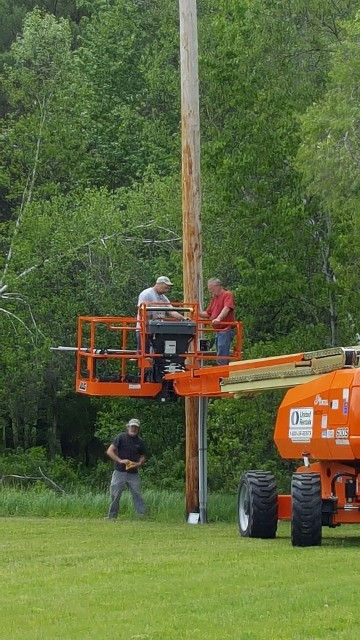 wiring crew