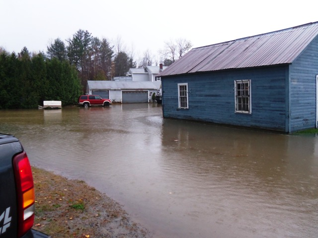 water level on depot street
