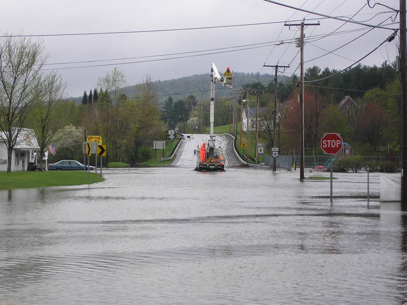 flooding from common to williams field