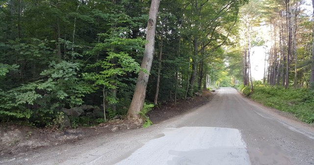 new ditches on West Farms Rd