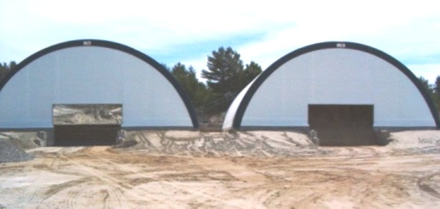 salt shed front view