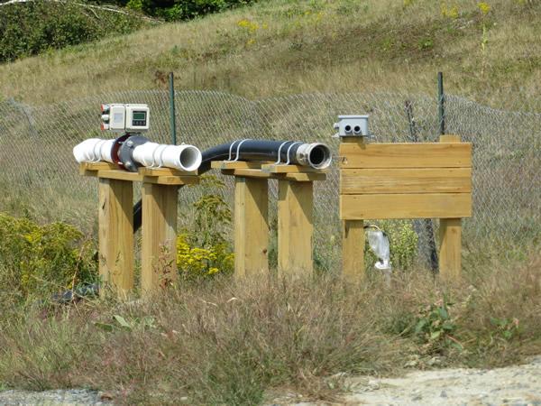 meters at wasterwater plant